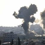 Több száz rakétával támadta Izraelt a palesztin hadsereg