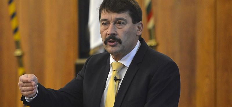 Áder az Alkotmánybírósághoz fordult a hulladékgazdálkodási törvény miatt