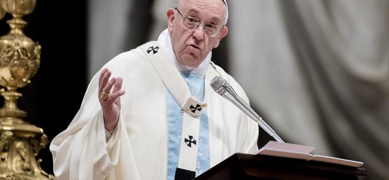 Ferenc pápa: Nem lesz többé papi pedofília
