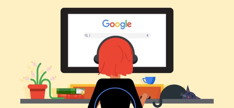 Fejenként 316 ezer forintnyi dollárt ad a távmunkás dolgozóinak a Google, hogy jobb legyen a home office