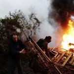 2500 rendőr zavarta el a franciaországi környezetvédőket