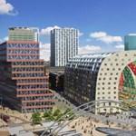 Ultramodern üvegcsarnok Rotterdamban - Nálunk nincs hasonló piac