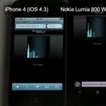 iPhone 4S vs Nokia Lumia 800: mire képesek a weben? [videó]