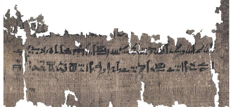 Előkerült egy 3500 éves használati utasítás arról, hogyan kell mumifikálni