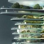 Egy felhőkarcolónyi park - zöld felület elképesztő panorámával