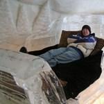 Jéghotelvágy a hideg ellenére