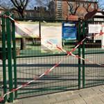 Bezárják az összes budapesti játszóteret