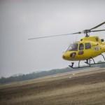 Súlyos balesethez kellett mentőhelikoptert hívni
