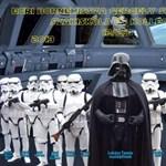 Fotók: így néz ki, ha Darth Vader és a Keresztapa kerül a tablóra