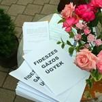 Felállították a Fideszes Gázos Ügyek Asztalát Dombóváron
