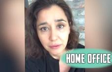 """Gryllus Dorka a Home office-ban: """"Nekünk nagyon-nagyon jó"""""""