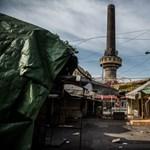 Szemétdomb maradt a józsefvárosi kínai piac helyén - Nagyítás-fotógaléria
