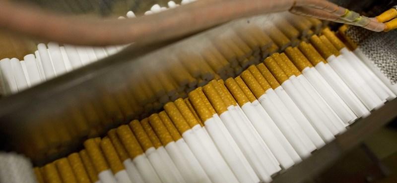 Itthon is 20-25 szál cigi lesz a dobozokban 19 helyett