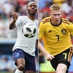 Anglia - Belgium 0-1, Panama - Tunézia 1-2