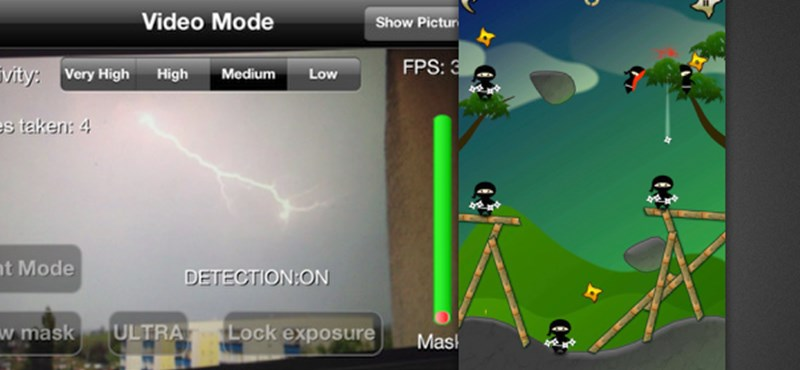 Ma ingyen az App Store-ban: iLightning Cam, Stupid Ninjas