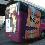 Összetört buszt küldött utasaiért az Orangeways Krakkóba