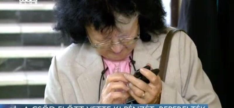A Quaestor-csőd napján vette ki a pénzét, beperelték a 77 éves asszonyt