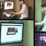 Daft Punk számokat játszik a zenész a Google Doodle segítségével