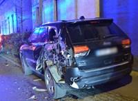 Csontrészeg kamionos cikázott az M3-son, miután több autót összetört