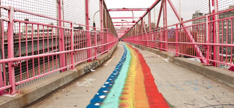 A nap képe: Nyan Cat hídja Brooklynban