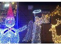 Kétméteres világító hóembert és trombitáló angyalkát loptak Sátoraljaújhelyen