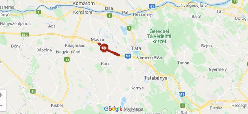 Hárman haltak meg az M1-esen – teljes az útzár