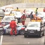 Itt egy súlyos válogatás a Nürburgring 2017-es baleseteiből – videó