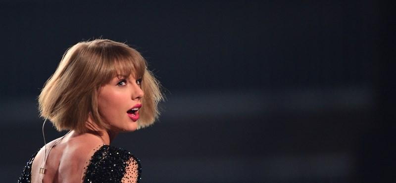 Taylor Swift segge nem azért van, hogy idegenek fogdossák
