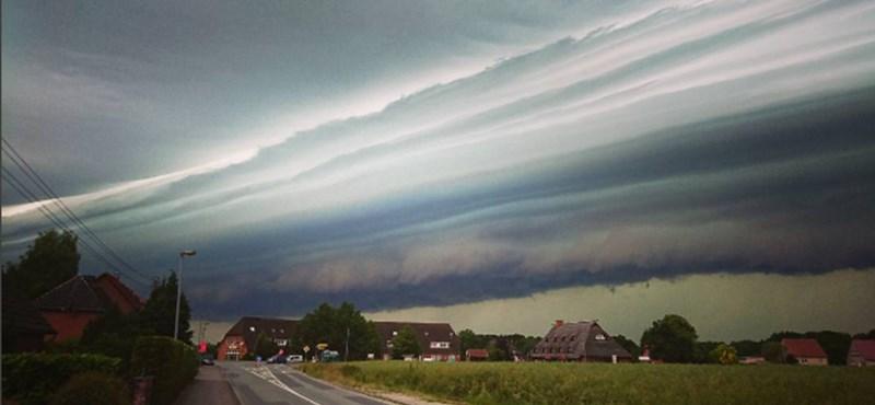 Halálos vihar vonult át Németországon - fotók