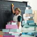 Év  végi ajándékok a tanároknak: elszálltak a szülők?