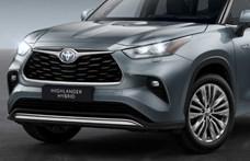 16,7 millió forinton nyit itthon a Toyota hatalmas divatterepjárója, a 7 üléses Highlander