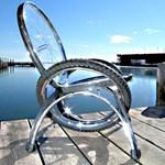Ultramodern bútorok ócska kerékpárokból (fotókkal)