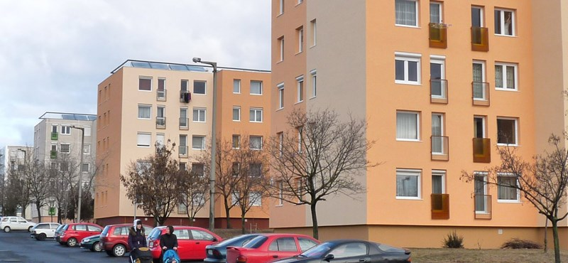 Győrben is kelendő a felújított panel
