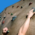 A falra mászott Budapesten a Vodafone