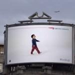 A legjobb repülős reklám, amit valaha látott