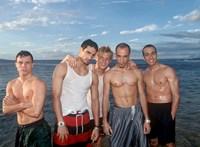 A nappaliból énekelték legnagyobb slágerüket a Backstreet Boys tagjai