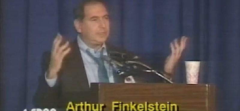 Meghalt Arthur J. Finkelstein, Orbán tanácsadója