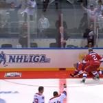 Hasra esett korcsolyázás közben Putyin elnök