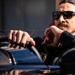 Brutális Ferrarijával kocsikázott Zlatan Ibrahimovics, bírságot kaphat érte