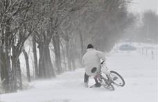Itt a figyelmeztetés a fél országra: havazni fog