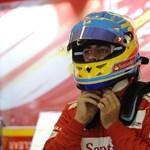 """Alonso élre repítette a """"lassú"""" Ferrarit Spában"""