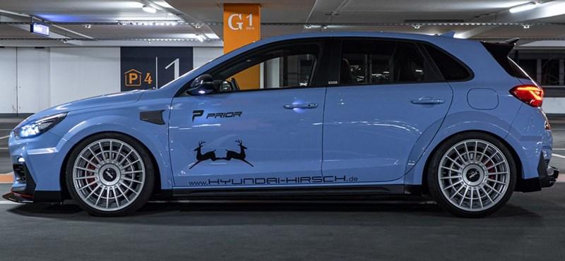 Látványosabbá tették a Michelisz-féle sportkompaktot, a Hyundai i30 N-t