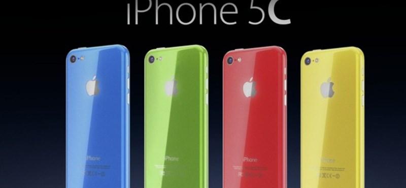 Itt egy lehetséges bizonyíték arra, hogy nem túl sikeres az iPhone 5C