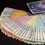 248 forintnál a svájci frank