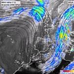 Óriási állóhullámot fotóztak le Európa felett - műholdképek