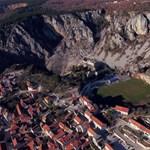Bevette magát a hegyekbe egy vágóhídról elszökött bika Horvátországban
