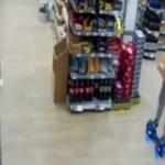 Fura eszközzel menekült egy bolti tolvaj Nagy-Britanniában – videó