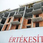 Áprilisban is jelentős volt a visszaesés az ingatlanpiacon