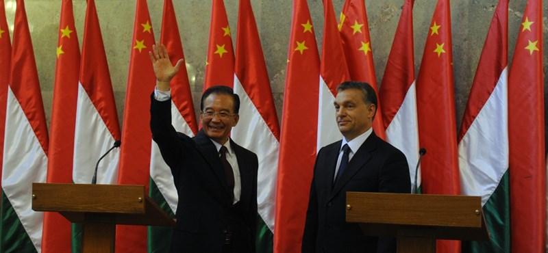 Orbán: új szövetséget kötöttünk Kínával