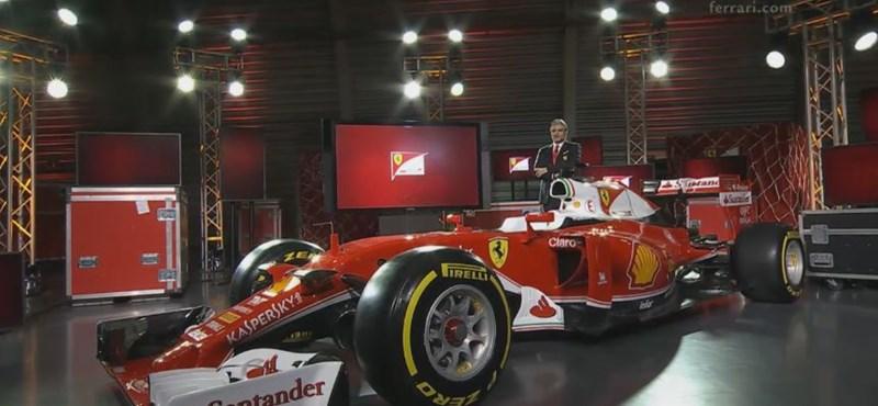 Itt a dögös vörös: bemutatták a 2016-os Forma–1-es Ferrarit